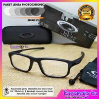 Frame Kacamata Pria Photocromic Minus Slim Voltage Series Premium