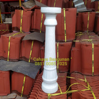 Catur Keramik Besar Pagar Rumah Hiasan Dekorasi Bangunan Tiang Meja