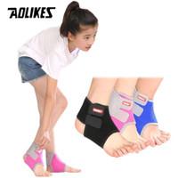 Aolikes 7128 Ankle Support Protector KID - Pelindung Ankle Kaki Anak
