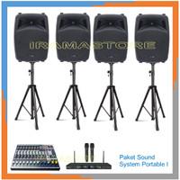 Paket Sound System Portable I