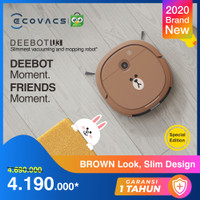 Ecovacs DEEBOT U3 LINE FRIENDS BrownEdition Robot Vacuum Cleaner Vacum