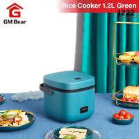 GM Bear Smart Rice Cooker Mini 0.8L Green 1222- Penanak Nasi Minimalis
