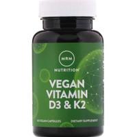 MRM Vegan vitamin D3 K2 60vegcaps