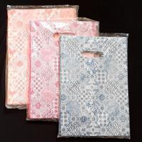 HD Oval 20x30 Kantong Plastik Baju Shopping Bag Plastik Online Shopp - pink