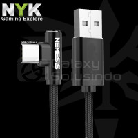 NYK Nemesis DC100 Cable Data Type-C USB Fast Charging - 1 Meter