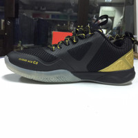 sepatu badminton li-ning cloud ace G8 0853 black/gold size 39-45