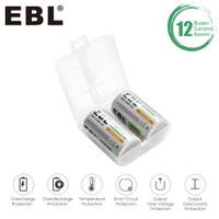 EBL 10000MAH BATTERY TYPE D RECHARGEABLE BATTERY BATERAI