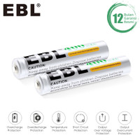 EBL 400MAH BATTERY 2PCS - AAAA / A4 BATTERY BATERAI