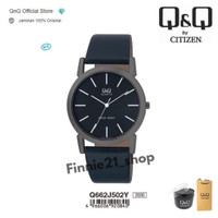Jam tangan pria QQ Q&Q QnQ Q662 Q662J original jepang