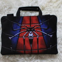 Tas Laptop Spiderman Full Sablon 10-17 Inch Softcase Bag