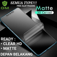 SAMSUNG S20 FE S20FE HYDROGEL MATTE ANTI GORES Non Tempered Glass - CL