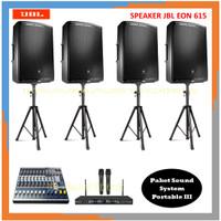 Paket Sound System Portable III