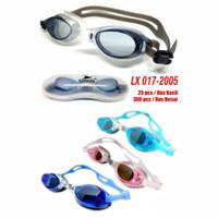 Kacamata Renang Anak ANTI FOG UV Remaja SPEEDS LX 1600 ORIGINAL - Biru