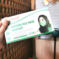 Masker 3ply Headloop Elegant