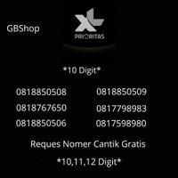 Kartu Perdana 10 Digit New XL Prioritas Gold Gratis Nomer Cantik