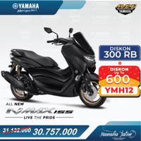 Yamaha All New Nmax 155 Standard Version Surabaya - Hitam