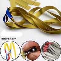 flatband ketapel karet ketepel latex rubber band tactical slingshot