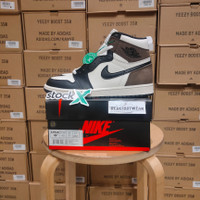 Nike Air Jordan 1 Retro Hi OG Dark Mocha BNIB PK GOD - 40
