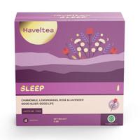 Haveltea SLEEP 4 Tea Bags   Teh Bunga Chamomile Tea   Pengantar Tidur