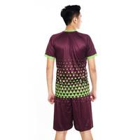Proteam Jersey 3Line Futsal Maroon-Green