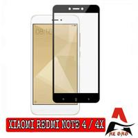Tempered Glass XIAOMI REDMI NOTE 4 4X Full Cover Anti Gores Kaca - NOTE 4