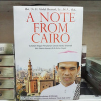 BUKU A NOTE FROM CAIRO - ABDUL SHOMAD