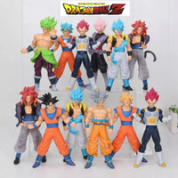ACTION FIGURE DRAGON BALL SUPER GOKU SUPER SAIYAN GOGETA BROLY VEGETA