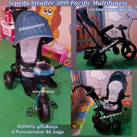 SEPEDA STROLLER BAYI PACIFIC SPACE BABY 5099
