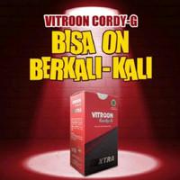 VITROON Cordy-G Suplemen Vitalitas Stamina Pria Dewasa Asli BPOM HALAL