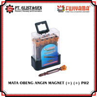 Mata Obeng Angin PH2 x 65 (+) (+) Mata Bor Obeng Gypsum + Magnet