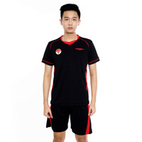 Proteam Jersey 3Line Volley Black-Red