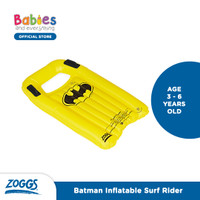 Zoggs Superhero Inflatable Surf Rider - Batman, ONE SIZE