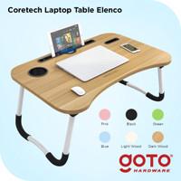 Coretech Elenco Meja Belajar Makan Lipat Anak Laptop Portable