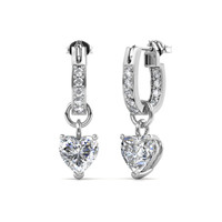 Missy Love Earrings - Anting Crystal Swarovski by Her Jewellery