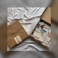 Gift Packaging - Gift Box with Greeting Card Hamper - Kotak Kado