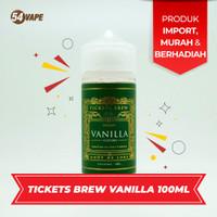 Ticketsbrew Vanilla 100ml Authentic by TICKETSBREW.CO