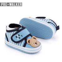 Sepatu Baby Pre Walker Bear Baby Big Strap LKS1147 - Biru Muda