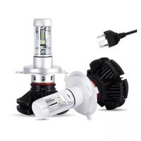 Lampu Led X3 H4 3 Warna 50 Watt isi 2 Pcs Sepasang R056