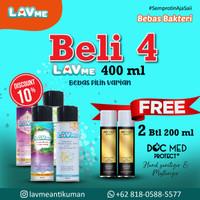 Lavme Anti Virus & Bacterial Spray 400ml - Beli 4 Free 2 Docmed 200ml