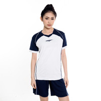 Proteam Jersey 3Line Volley White-Navy
