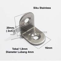 Siku L 20 x 20 Stainless Steel / Siku Penyangga