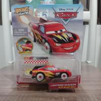 disney pixar cars lightning mcqueen with blast wall rocket racing