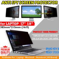 Laptop 17 18 inch Inci Privacy Screen Guard Anti Gores Spy Antigores - Antispy