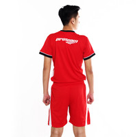 Proteam Jersey 3Line Volley Red - White
