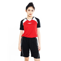 Proteam Jersey 3Line Volley Red - Black - White