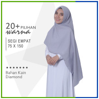 Jilbab Segi Empat 75 x 150 Diamond Pashmina Sabyan Syari