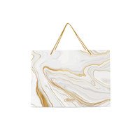 Paper Bag Blossom Horizontal - White