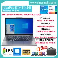 Laptop Lenovo IdeaPad Slim 5i i5-1135G7 512GB SSD 8GB Iris Xe WIN10