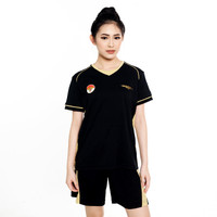 Proteam Jersey 3Line Volley Black-Gold