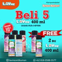 Lavme Anti Virus & Bacterial Spray 400ml - Beli 5 Gratis 2